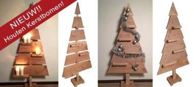 houten kerstboom bestellen